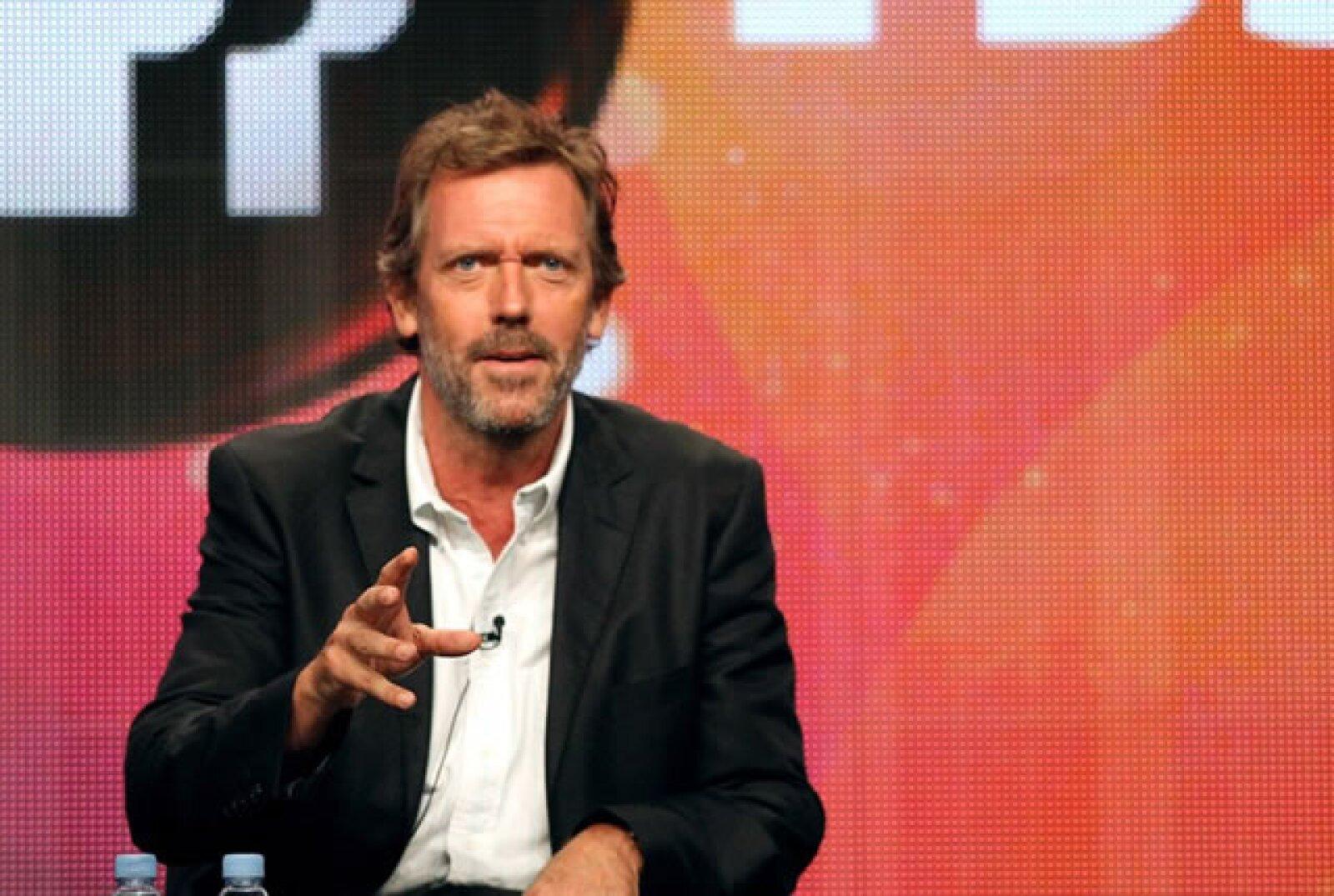 Hugh Laurie fue nominado seis veces casi consecutivas por su papel en Dr. House. Decimos casi porque en 2006 no logró una nominación.
