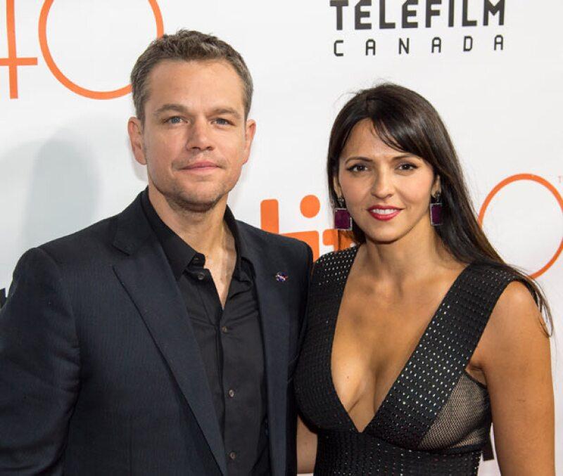 Medios aseguran que el actor ha seguido los pasos de su amigo Ben Affleck en cuanto a relaciones se refiere, pero además que su amigo influyó en la decisión de Luciana.