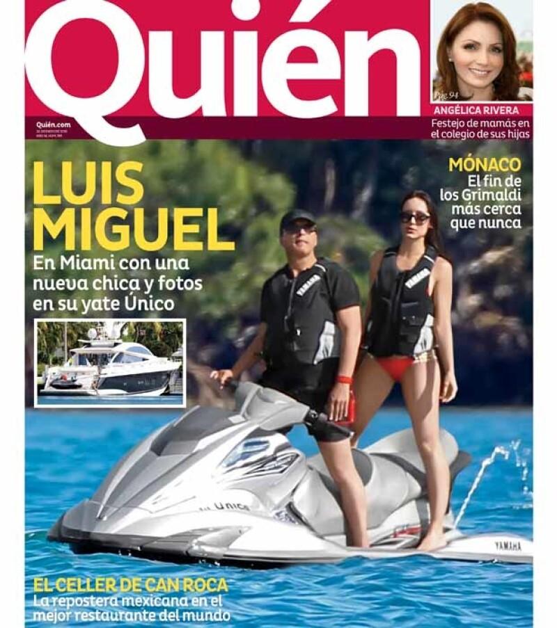 Luis Miguel fue portada de la revista en mayo de 2013.