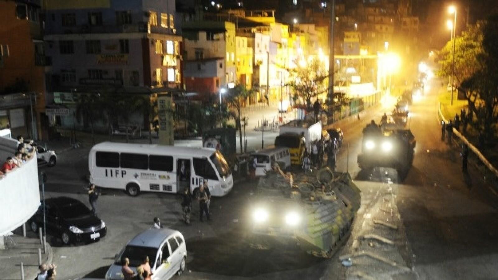 operacion en la favela rocinha