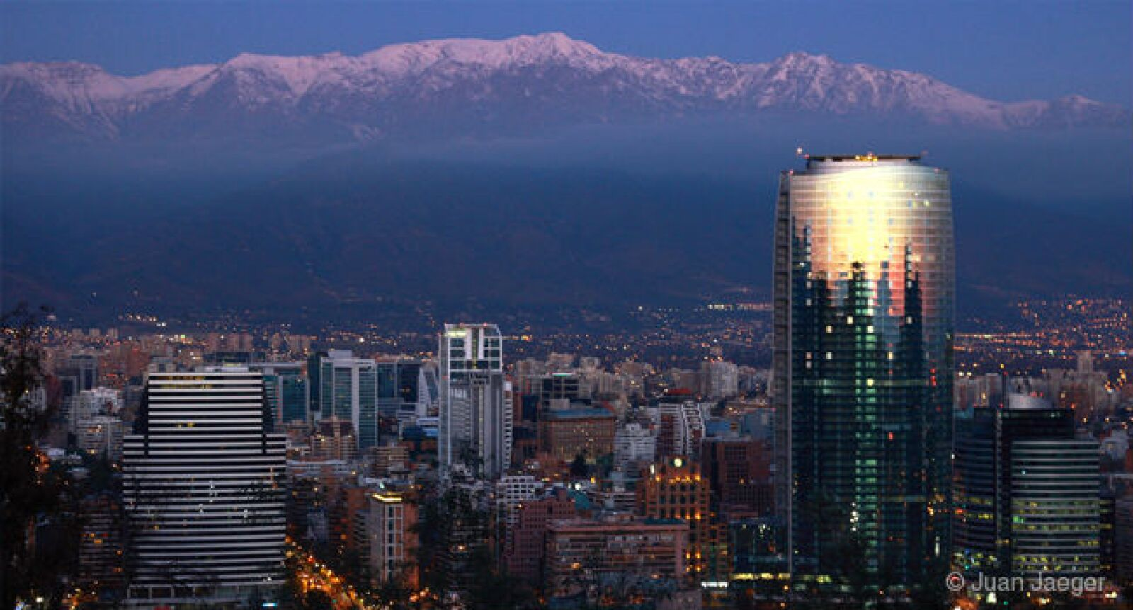 La capital chilena se pasó del 63 al 88.
