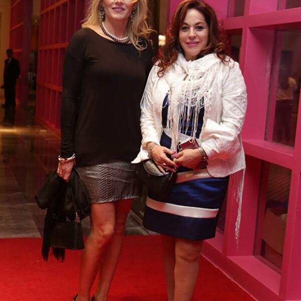 Eugénia Martínez y Sara Robbins