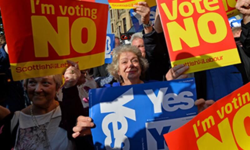 Escocia ha dicho que en caso de ser independiente destinaría los ingresos del petróleo a un fondo soberano. (Foto: Getty Images)