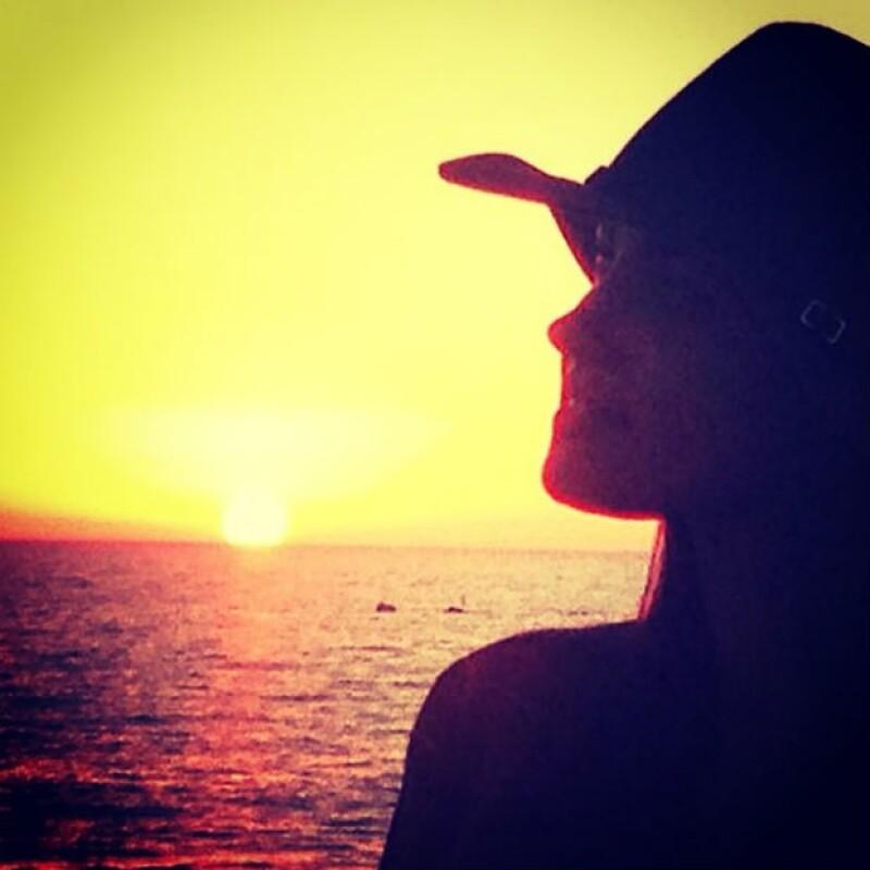 """A cinco días del final de """"La Gata"""", Maite disfrutó de Venice Beach."""
