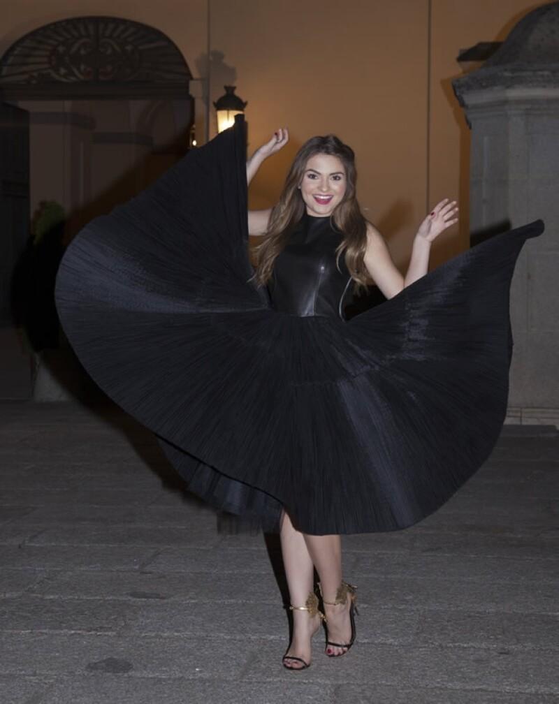 De acuerdo con Aldo Rendón, Sofía Castro lucirá glamorosa pero de acuerdo a su edad.