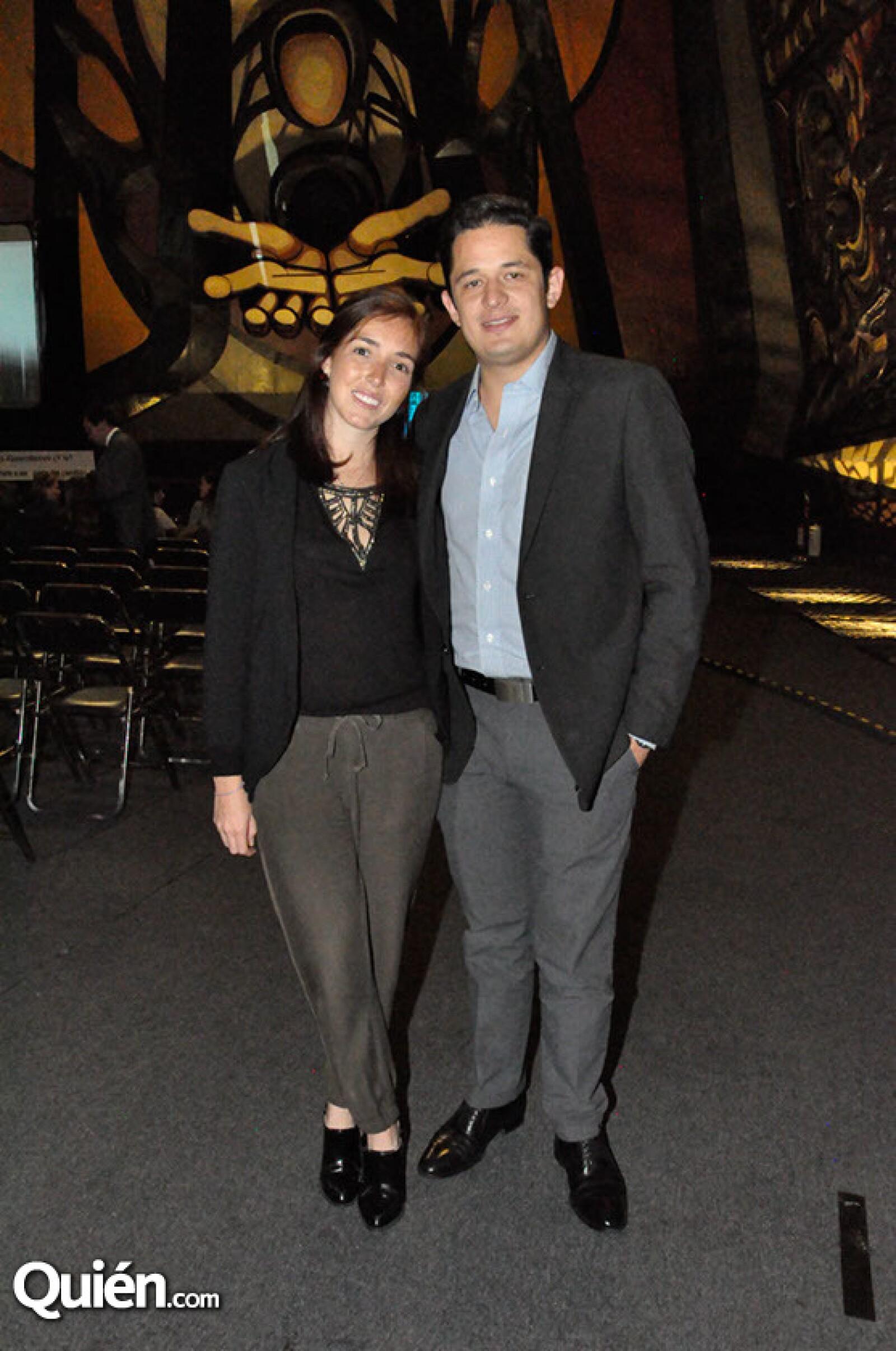 Natalia Fernández y Juan Arnau