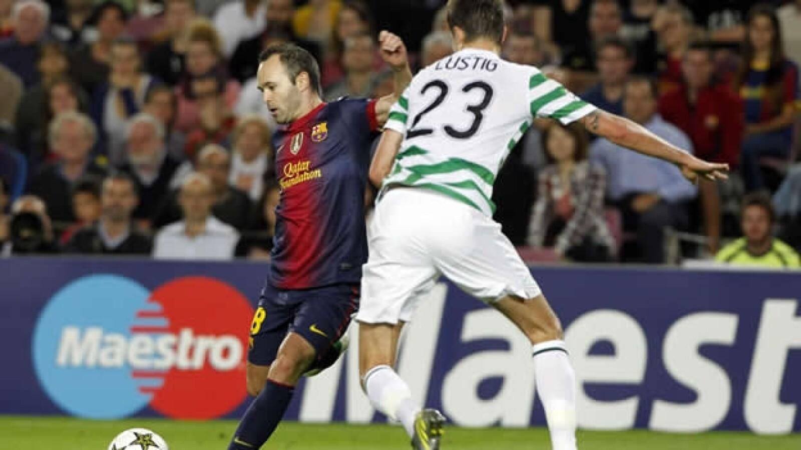 andres iniesta gol barcelona