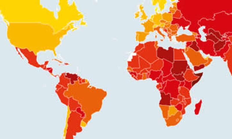 El organismo resaltó que México permanece estancado en el combate a la corrupción. (Foto: Tomada de transparency.org/)