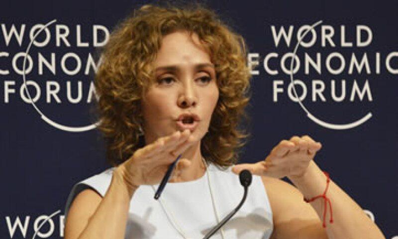 Angélica Fuentes aseguró estar convencida de que la razón jurídica estará de su lado. (Foto: Cuartoscuro)