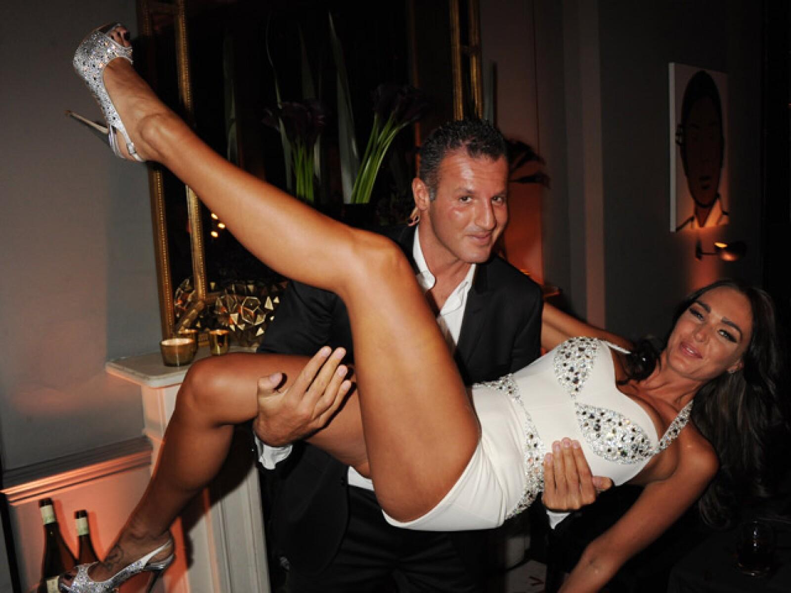 Cuando de festejar se trata, Tamara y su novio no se guardan nada.