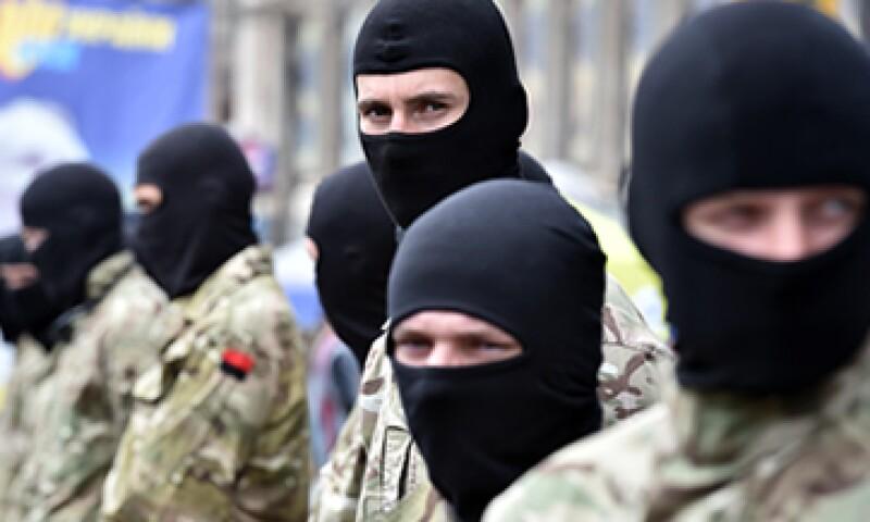 Las autoridades ucranianas se enfrentan a una insurrección prorrusa al este del país. (Foto: AFP)