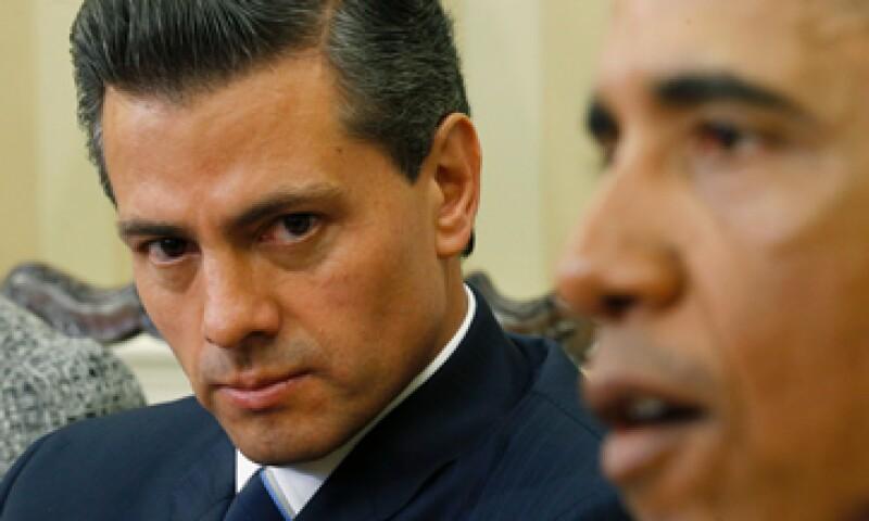 Peña Nieto se reunió en privado este martes con el presidente estadounidense Barack Obama. (Foto: Reuters )