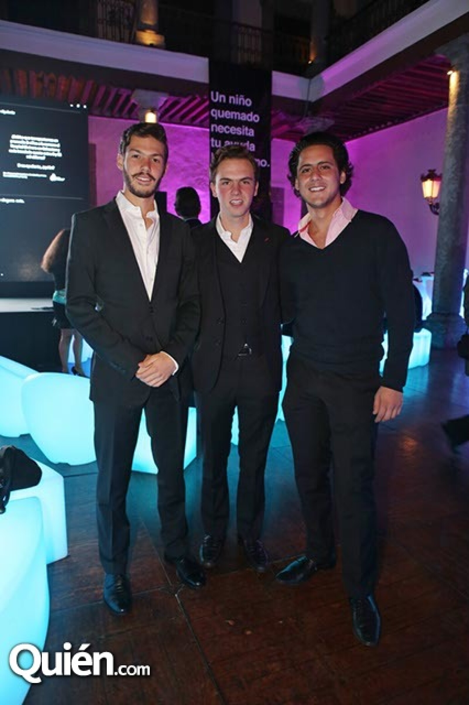 Diego Cerrilla,Íñigo Fernández y Daniel Mussi
