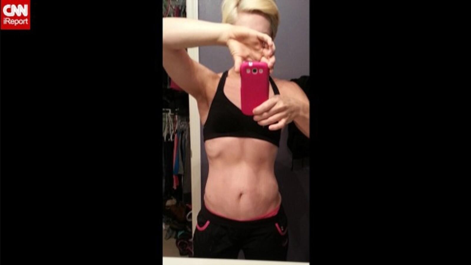 mujer que perdio 77 kilos