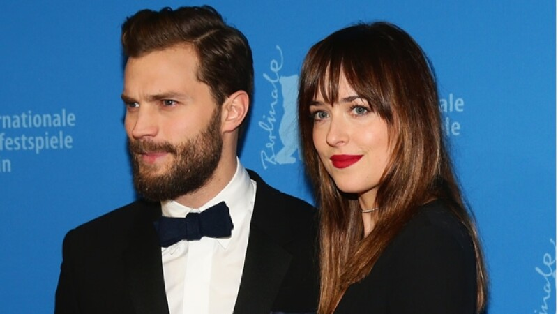 Jamie Dornan y Dakota Johnson premier berlin