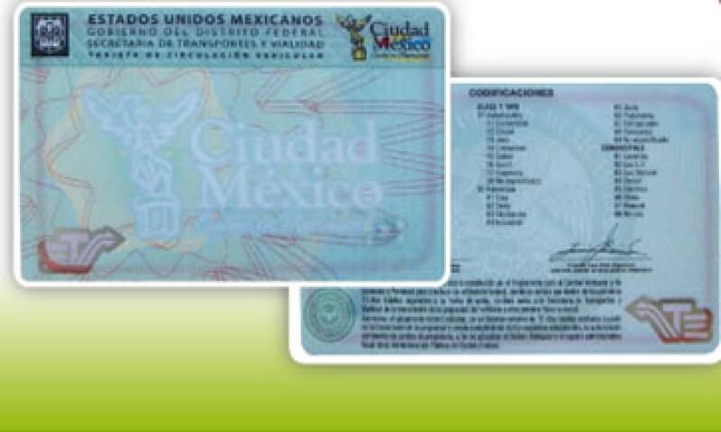 Para tramitar la nueva tarjeta, los conductores deben presentar la tarjeta que tienen, identificación oficial y comprobante de domicilio. (Foto: Cortesía Setravi)