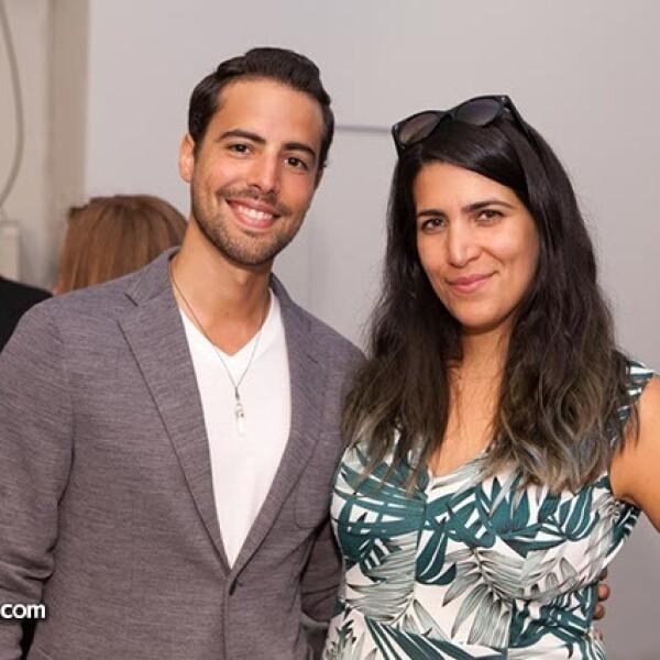 Luis Guigen y Valeria Cordero