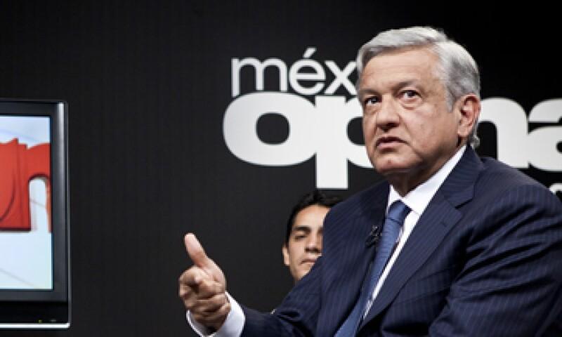 La corrupción es un mal que se debe cortar de tajo, dijo López Obrador en Foro CNN (Foto: Grupo Expansión)