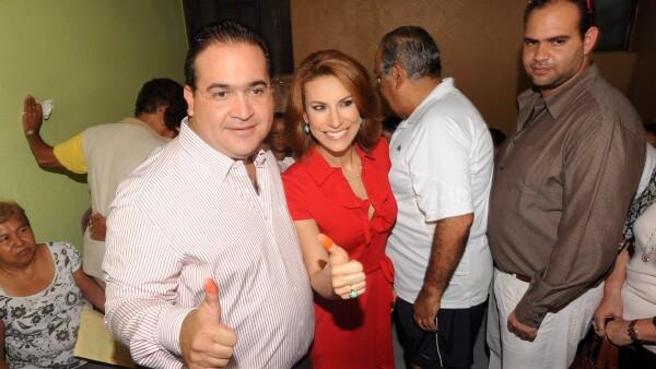 Javier Duarte y Karime Macías