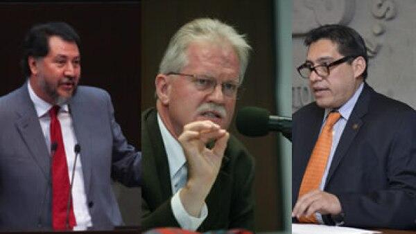 Fernández Noroña, Pascoe y González Placencia están entre los aspirantes independientes. (Foto: Especial/Cuartoscuro )