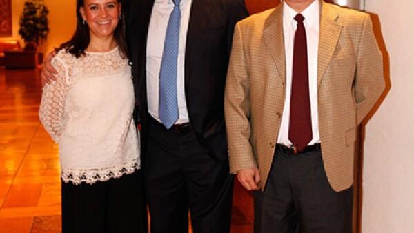 Ana Paula Fernández, Jorge Forastieri y Guillermo Burle