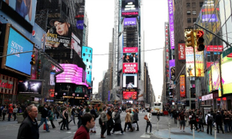 En el video publicado por ISIS hay imágenes de Times Square. (Foto: Getty Images)