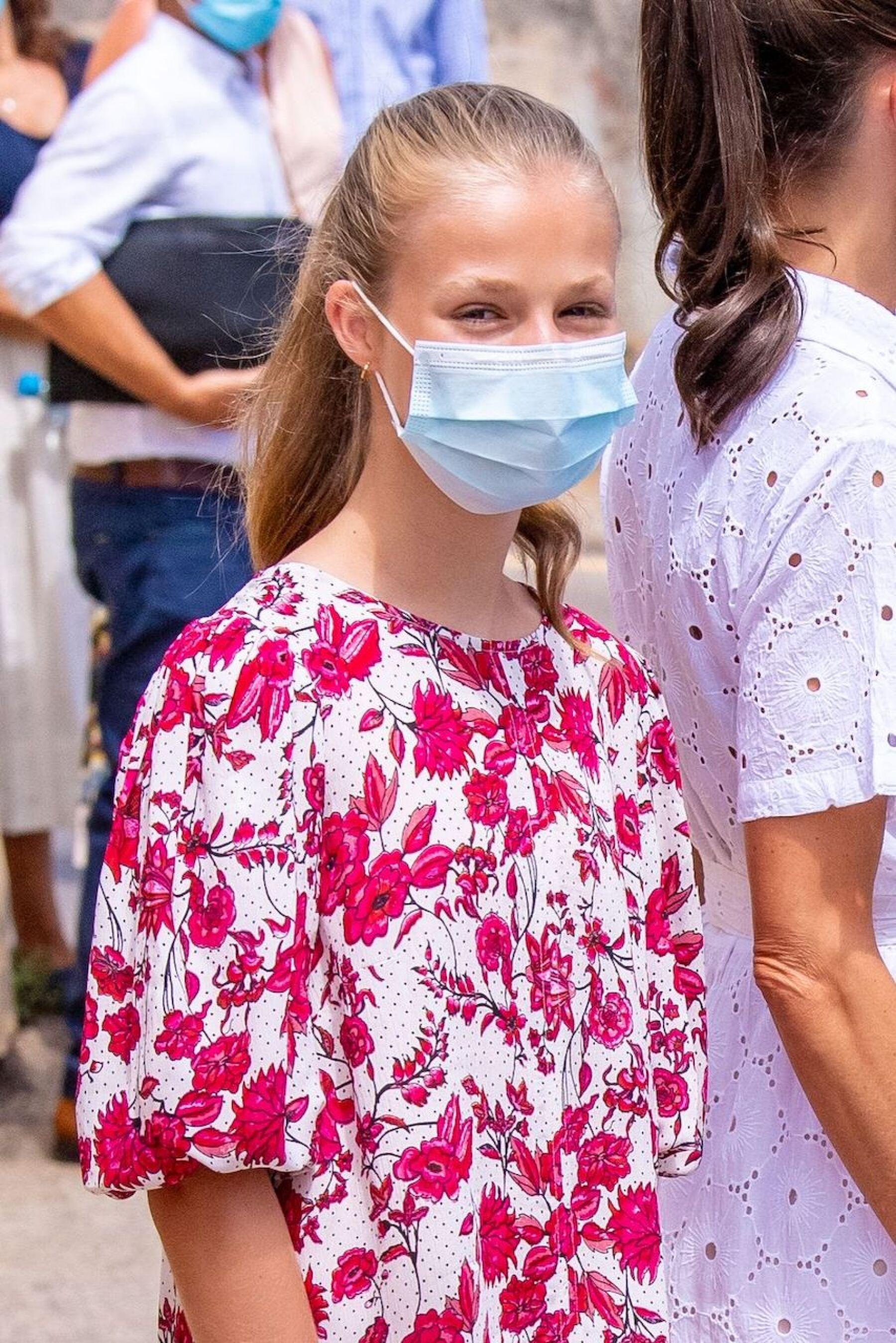 Spanish Royals visit to Naum Socio-educational Center, Palma, Balearic Islands, Spain - 11 Aug 2020