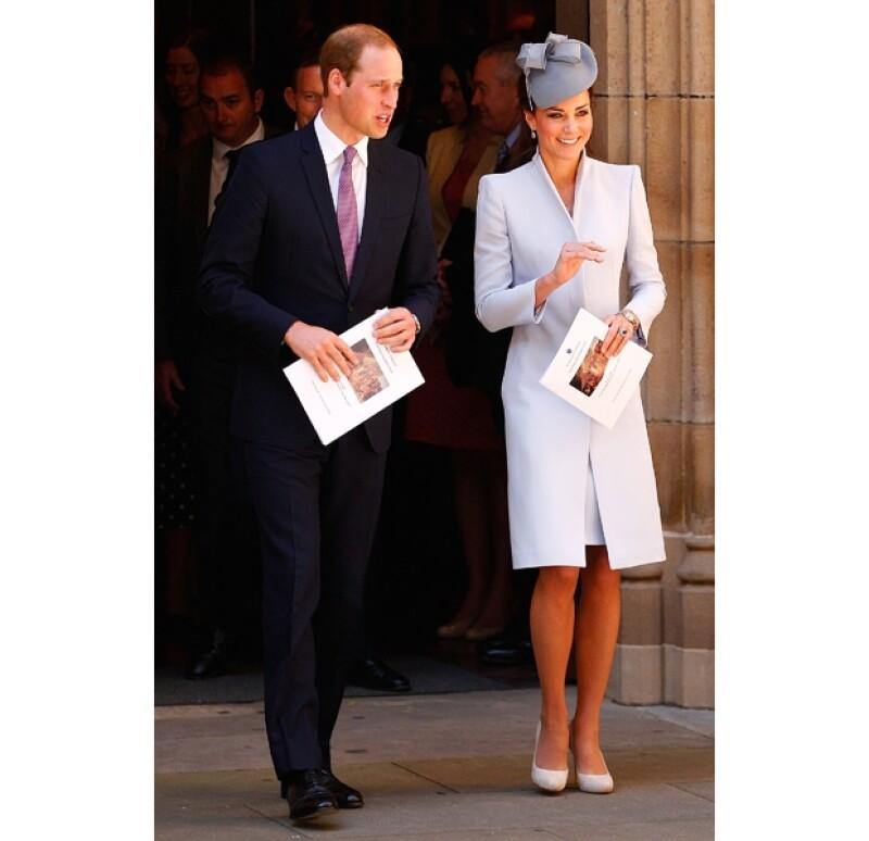 La pareja Real disfrutó de un tradicional domingo de Pascua.