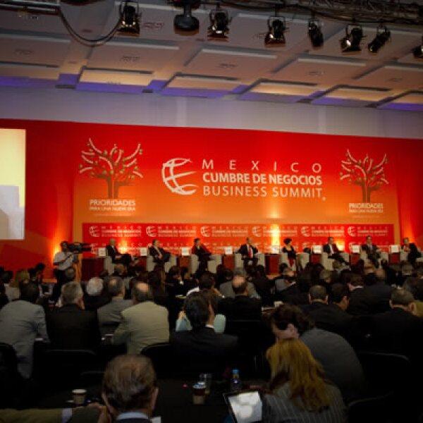La vicepresidenta editorial de Grupo Expansión participó en los foros donde se discutieron las oportunidades para impulsar a la economía mexicana  y cómo sacar ventaja de la actual situación financiera mundial.