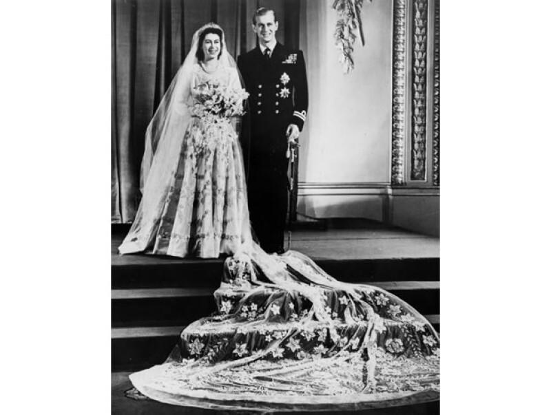 La pareja contrajo matrimonio en 1947.