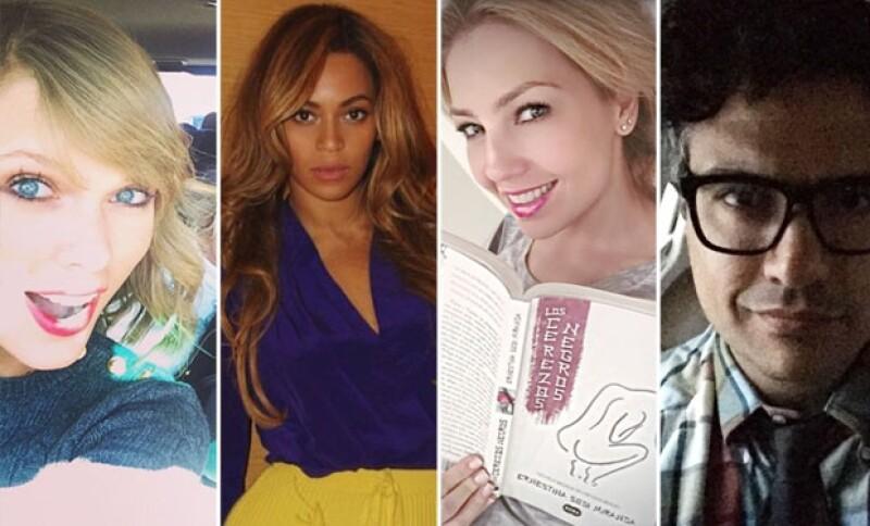 Los famosos recurrieron a sus redes sociales para publicar originales mensajes de agradecimiento por el jueves de Thanksgiving.