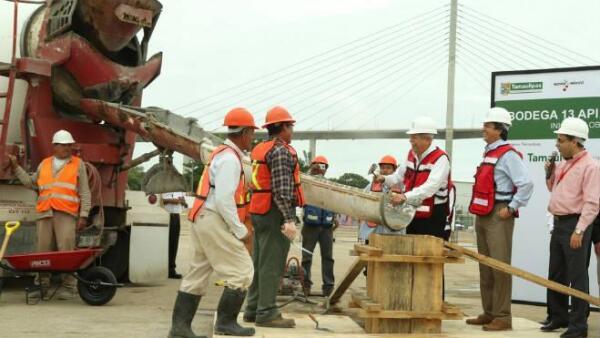 Obras portuarias en Tamaulipas