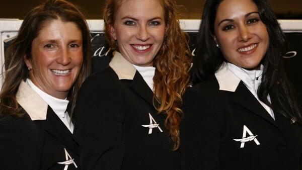 El único equipo participante integrado por mujeres fue el de Angelíssima, demostrando que en este deporte no importa el género.