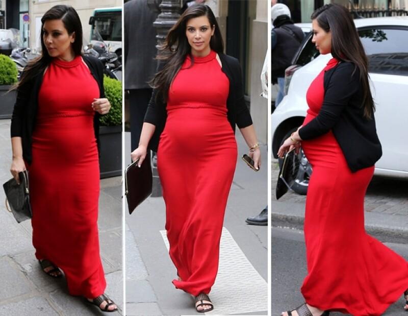 """La socialité y la Duquesa han elegido estrategias muy diferentes para vestir durante su embarazo, la primera ha optado por prendas de diseñador, mientras que la segunda por estilos """"low cost""""."""