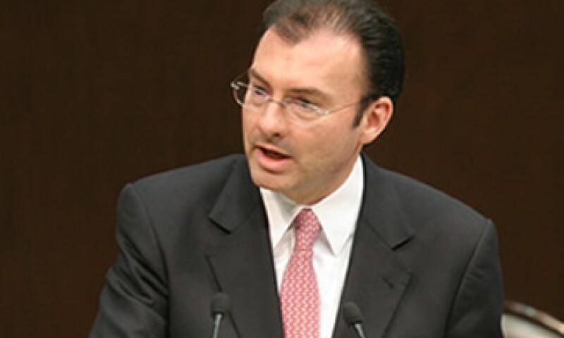 Luis Videgaray es el coordinador de la campaña de Enrique Peña Nieto, candidato presidencial del PRI. (Foto: Archivo)