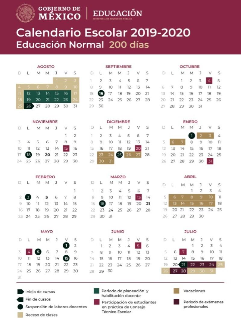 Calendario 2020 Con Festivos.Dias Festivos Y Puentes Vacacionales 2019 Y 2020