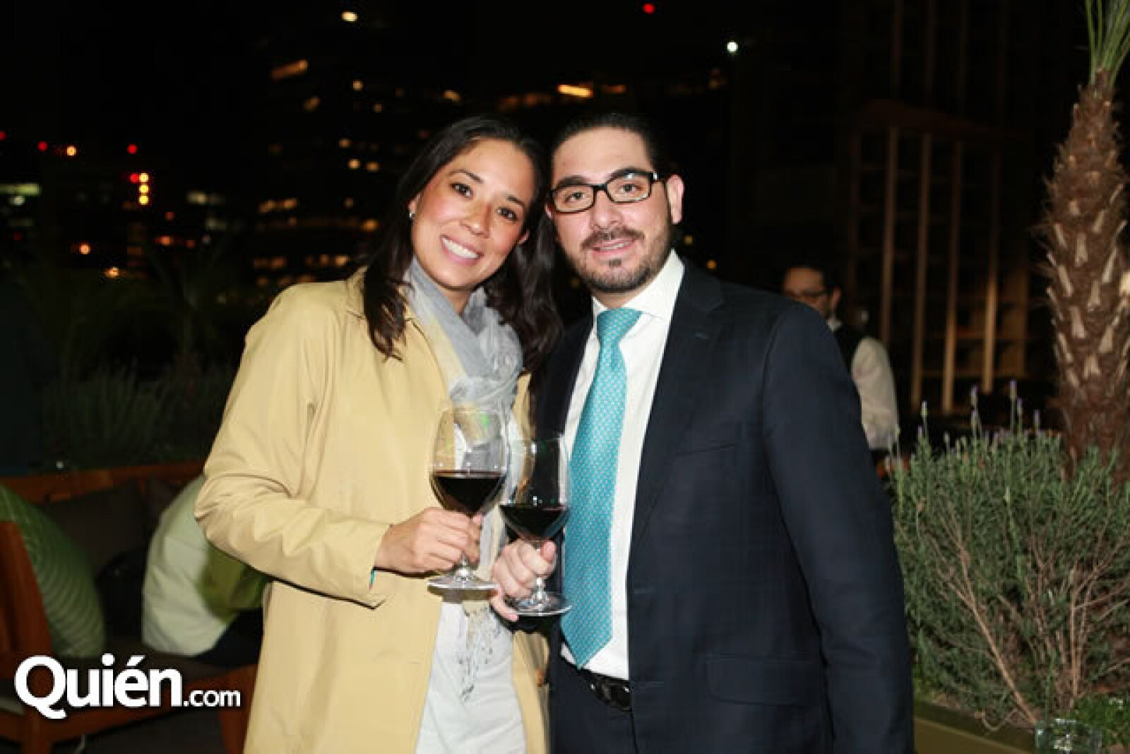 Nicole y Javier Pérez Rubio