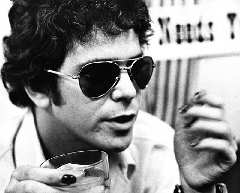 Lou Reed en 1975. La leyenda del rock murió este domingo a la edad de 71 años.