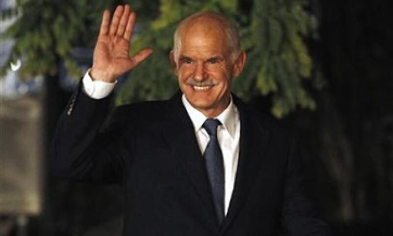 George Papandreou no dijo quién lo va a reemplazar. (Foto: Reuters)