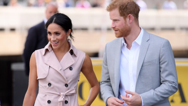 Meghan y Harry expo Mandela 2