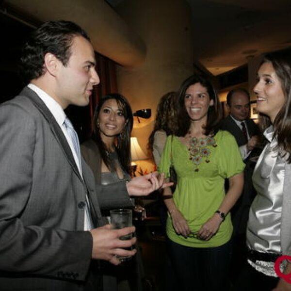 Alexandre Pochard, Rosario Brindis, Constanza Mccluskey, Princesa Caroline Murat