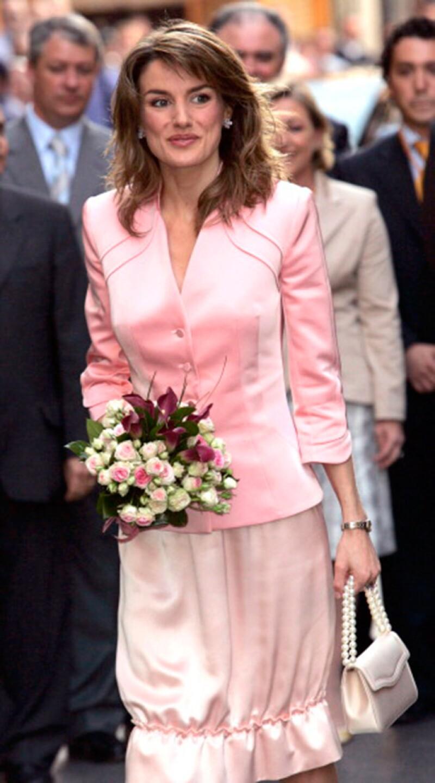 Este es uno de los look menos favorables de la ahora reina de España.