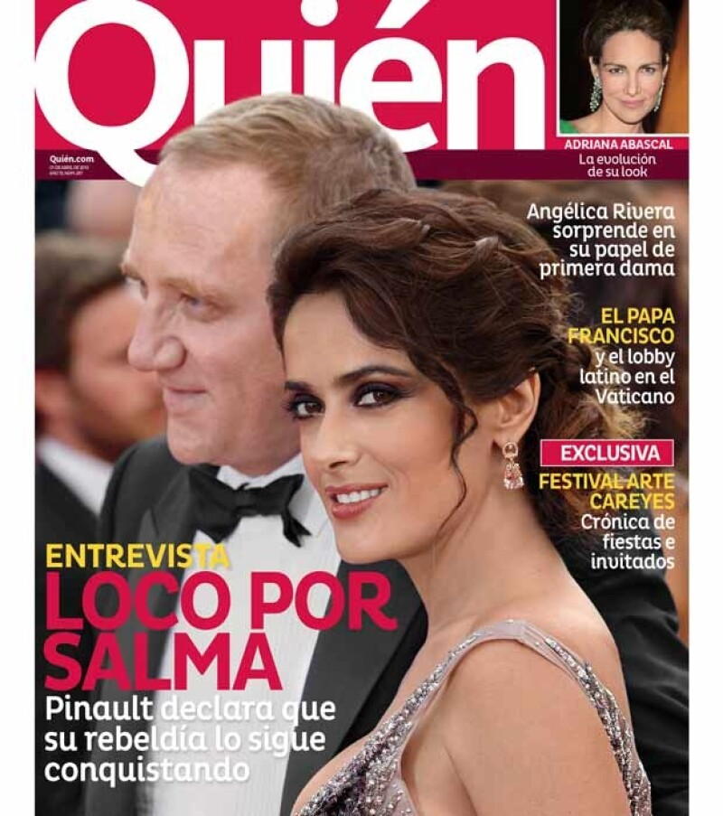El empresario francés habla en una entrevista, que verás en la nueva edición de la revista Quién, de cómo conquistó a la actriz mexicana y su historia de amor.