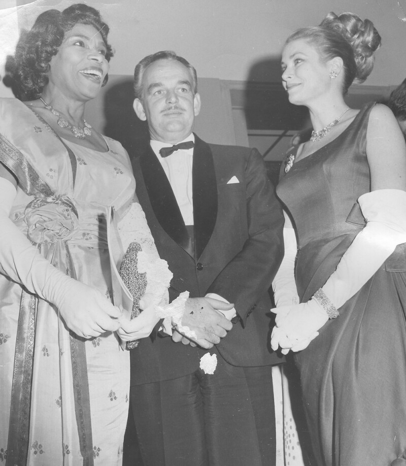 Marian Anderson, Grace Kelly