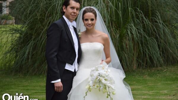 Fernando Lua y Andrea Sanchez