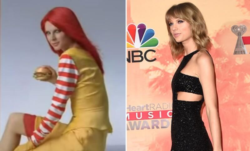 """La noticia sobre esta joven que aparece en un comercial de dicha cadena de comida rápida, generó que éste llegara a viralizarse como la desconocida """"hermana"""" de la cantante."""