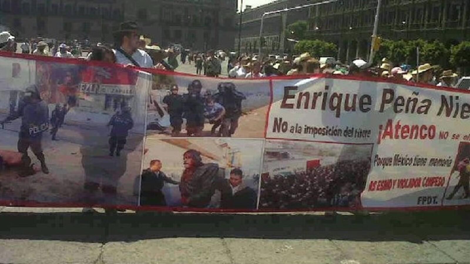 marcha anti peña en la que participa yosoy132