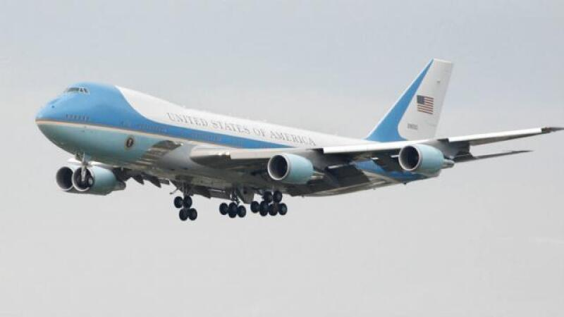 Los aviones de Trump