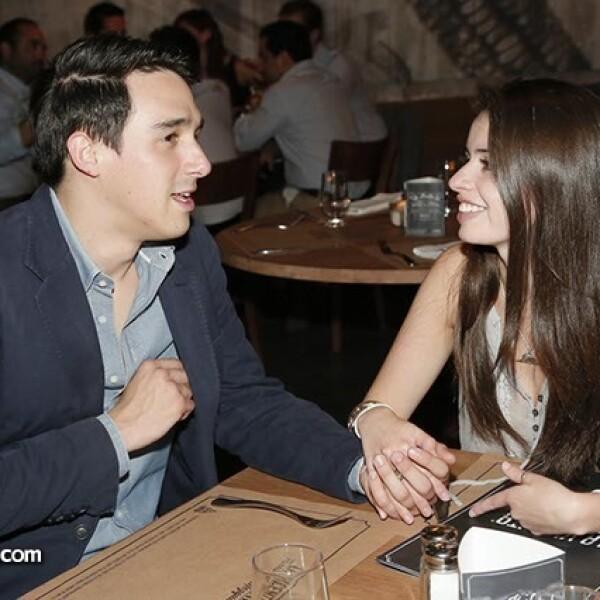 Alejandro Méndez y Eugenia González
