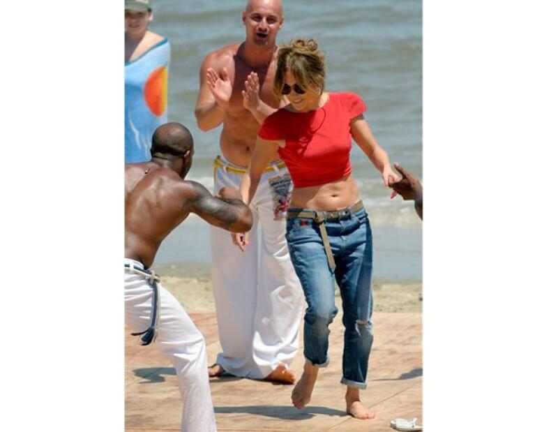 Jennifer se concentra en su trabajo luego de su separación con Marc Anthony.